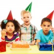 Is birthday party is over already? — Stock Photo