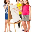 Painting lesson — Stock Photo