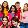 Happy kids from school — Stock Photo #22246743