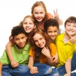 Group of happy kids — Stock Photo #22246847