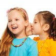Little gossip girls — Stock Photo