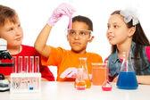 Chemieunterricht — Stockfoto