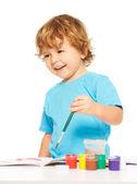 Happy smiling kid — Stock Photo