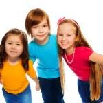 feiern mit kleinen Kindern — Stockfoto