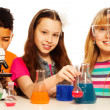 Cute kids and chemistry — Stock Photo #24686785