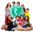 Постер, плакат: Kids world