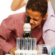 School chemistry research — Stock Photo