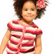 Stock Photo: Black little girl portrait