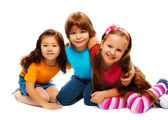 Small group of little kids — Stock Photo