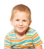 Smiling four years old boy — Stock Photo