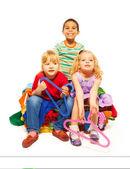 Fashion and kids — Stock Photo