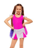 Cheerleader girl — Stock Photo