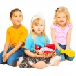 Easter kids — Stockfoto