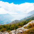 Kotor bay and surrounding mountains — Stock Photo