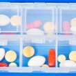 Pills for each day — Stock Photo