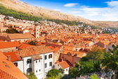 Dubrovnik from the view — Stock Photo