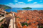 View of Dubrovnik, Croatia — Stock Photo