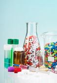 Drug store assortment — Stock Photo