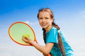Tennis player — Zdjęcie stockowe