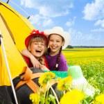 Camping is fun — Stock Photo #28480275