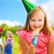 Stock Photo: Fun at birthday