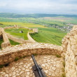 Canon on Spis castle tower — Stock Photo