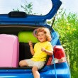All you need for car vacation — Stock Photo
