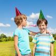 Stock Photo: Birthday party noise