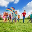 Many kids — Stock Photo #32012371