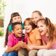 Sing is fun when it is group of kids — Stock Photo #32013019