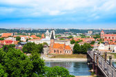 Kaunas town panorama — Stock Photo