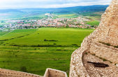 Spis hrad view from the castle — Stock Photo