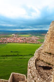 Canon and Spis hrad view — Stock Photo