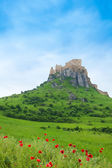 Spis Castle on the cliff — Stock Photo