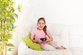 Video games for girls — Stock Photo