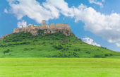Spis castle on the hill — Stock Photo