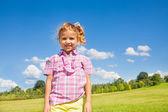 Cute 5 years old girl — Stock Photo