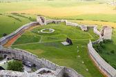 Spis lower castle ruins — Stock Photo