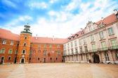 Royal castle, meydanda varşova — Stok fotoğraf