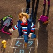 Hopscotch game — Stock Photo #36199193