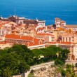 Old town cityscape of Monaco — Stock Photo