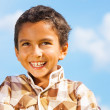 Laughing boy — Stockfoto