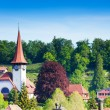 little church in spiez village — Stock Photo