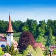 Little church in Spiez village — Stock Photo