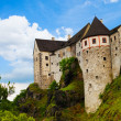 Town castle walls and towers — Stock Photo #36199671