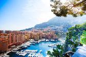 Marina in Monaco city — Stock Photo