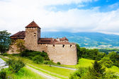 Royal castle in Vaduz — Stock Photo