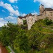 Loket castle and river — Stock Photo #36200089