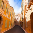 Street in old town in Monaco — Stock Photo