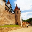 Walls and towers of Krivoklat castle — Stock Photo